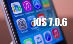 iOS 7.0.6 już jest!