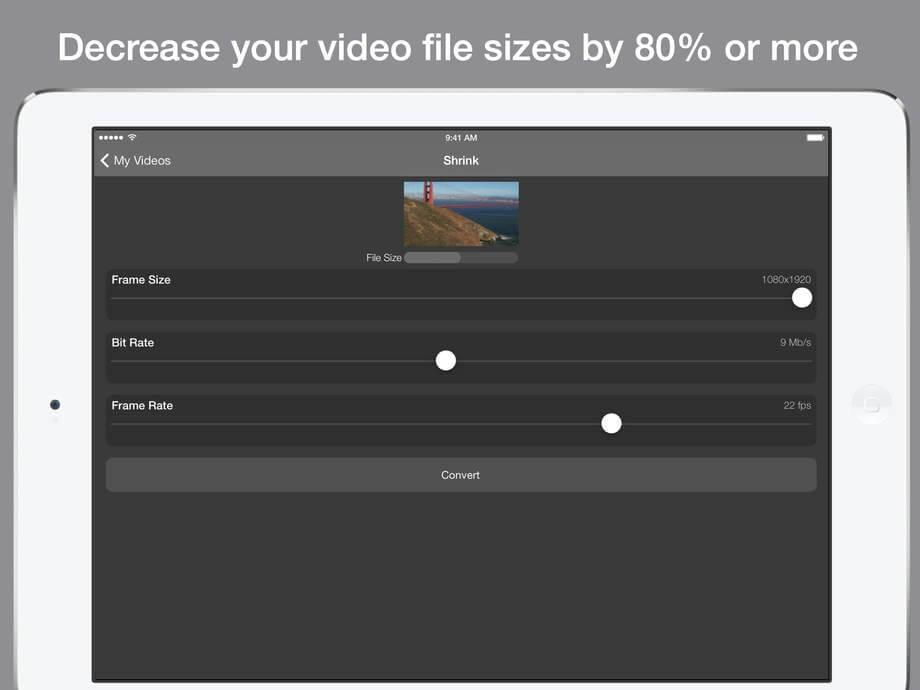 Compress – skompresuj film do dowolnej wielkości.