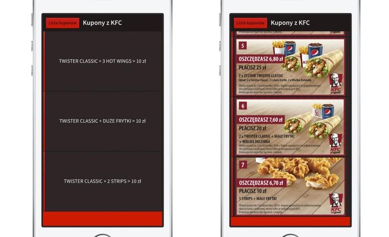 Kupony KFC - Płać mniej za jedzenie.