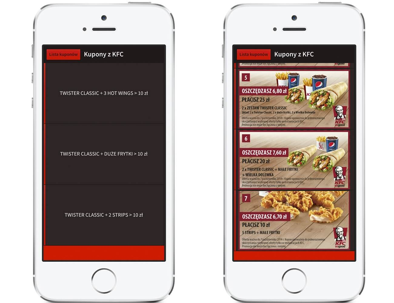 Kupony KFC – Płać mniej za jedzenie.