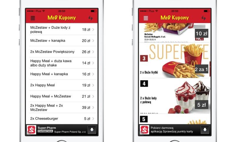 Mcdonalds Kupony - Zaoszczędź na jedzeniu w MCD