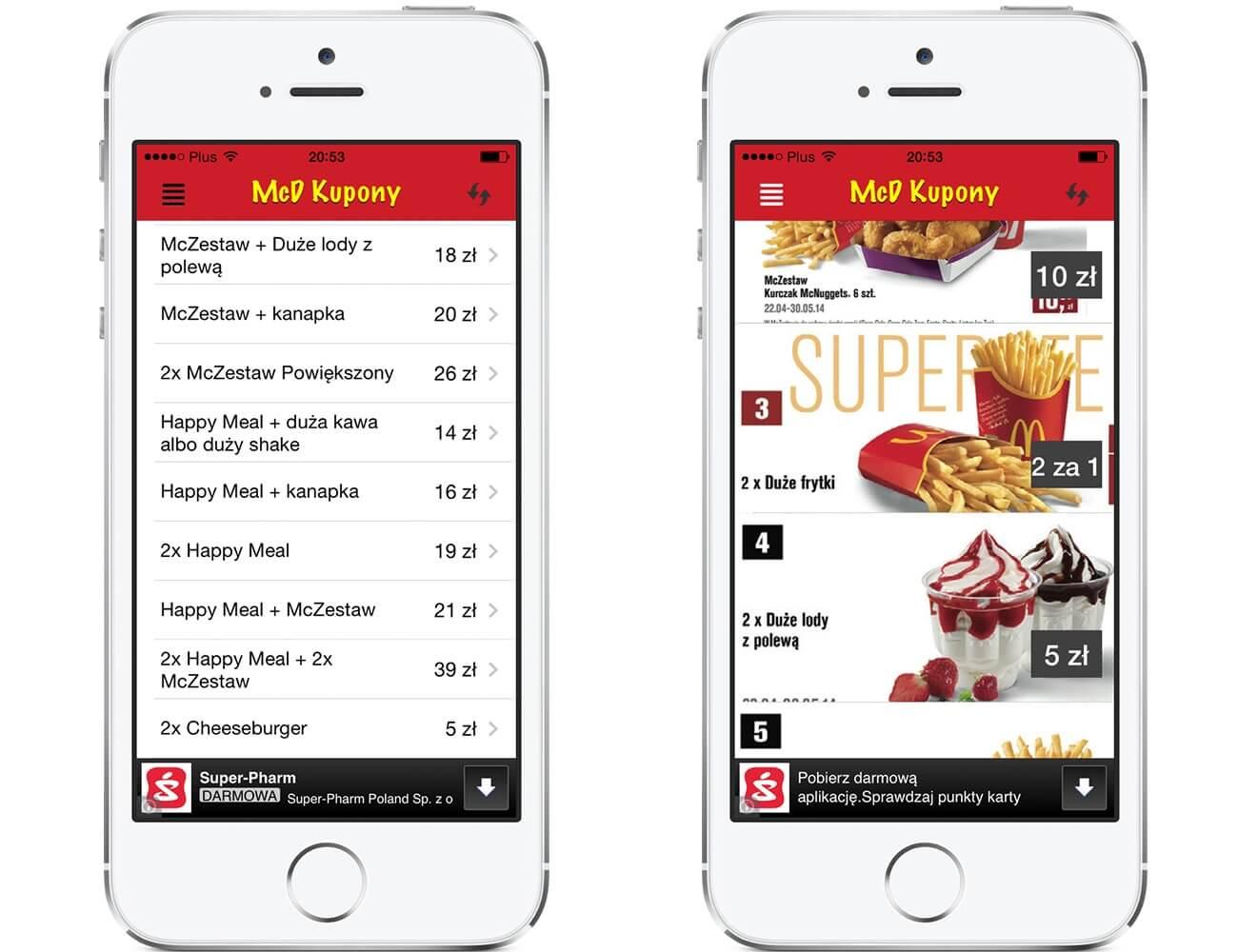 Mcdonalds Kupony – Zaoszczędź na jedzeniu w MCD