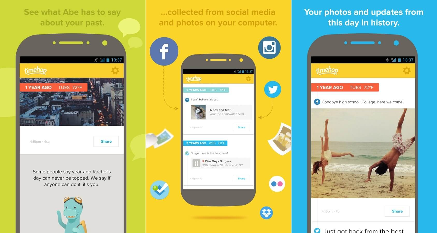 TimeHop – aplikacja ze zdjęciami prawdopodobnie nowego iPhone'a.