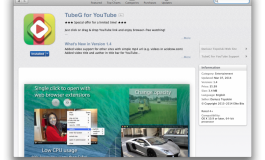 TubeG - odtwarzacz filmów z serwisu YouTube na Mac'a.
