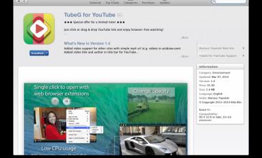 TubeG - aktualizacja.