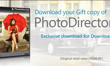Okazja! PhotoDirector 4 MAC/PC zamiast $99 za darmo! Oferta ważna do 16 marca.
