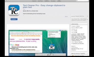 Text Cleaner Pro - skopiuj tekst, oraz automatycznie usuń niedoskonałości.