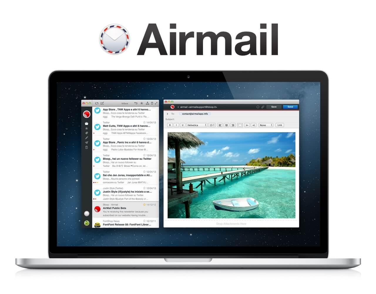 AirMail – godny rywal standardowej aplikacji Mail?