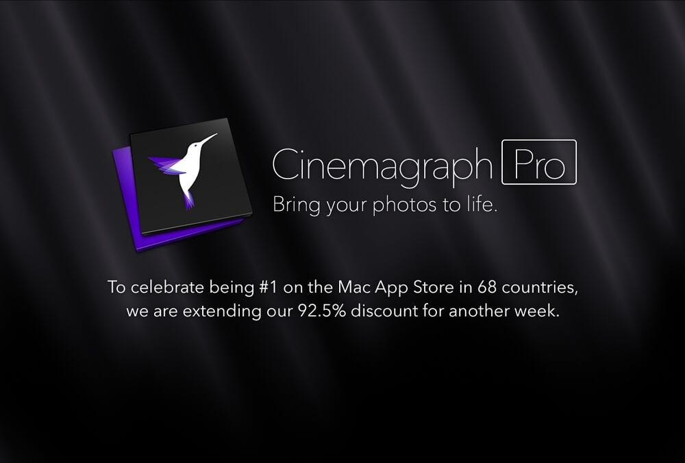 Cinemagraph Pro – film w zdjęciu.