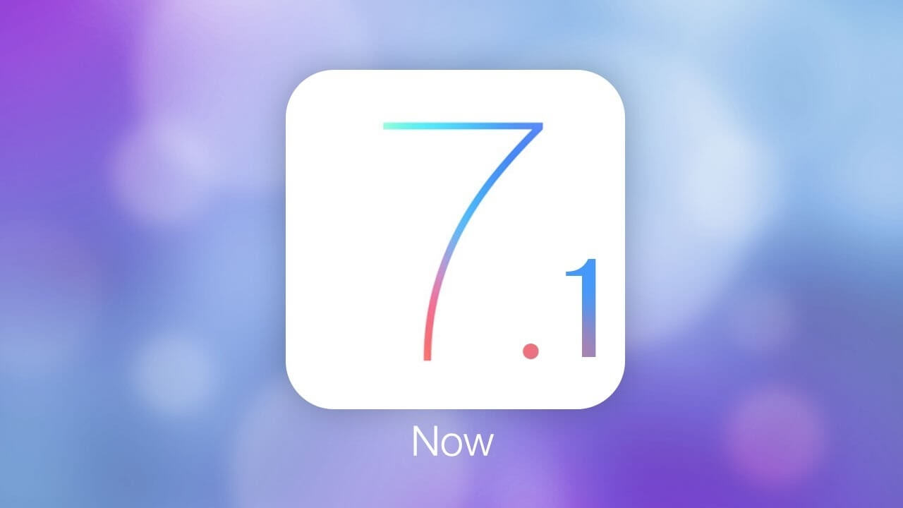 iOS 7.1 dostępny!