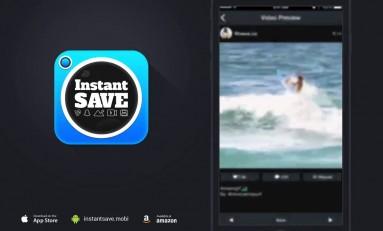 [KODY!] InstantSave - pobieraj filmy i zdjęcia na swojego smartphone'a z serwisów instagram, SnapChat, oraz Vine.