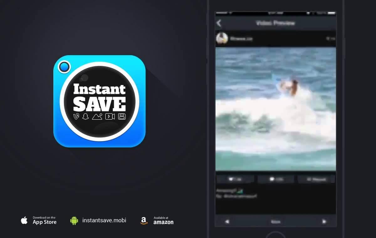 [KODY!] InstantSave – pobieraj filmy i zdjęcia na swojego smartphone'a z serwisów instagram, SnapChat, oraz Vine.