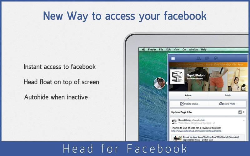 Head for: Facebook, Twitter, oraz Instagram – takich aplikacji potrzebowałem na Mac'a.