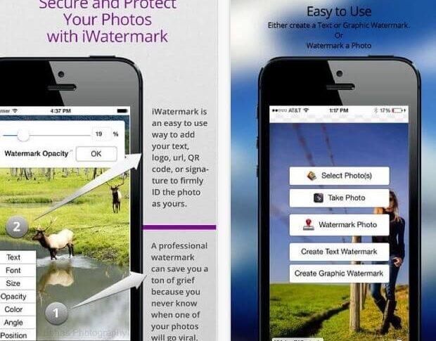 iWatermark - zabezpiecz swoje zdjęcie znakiem wodnym.