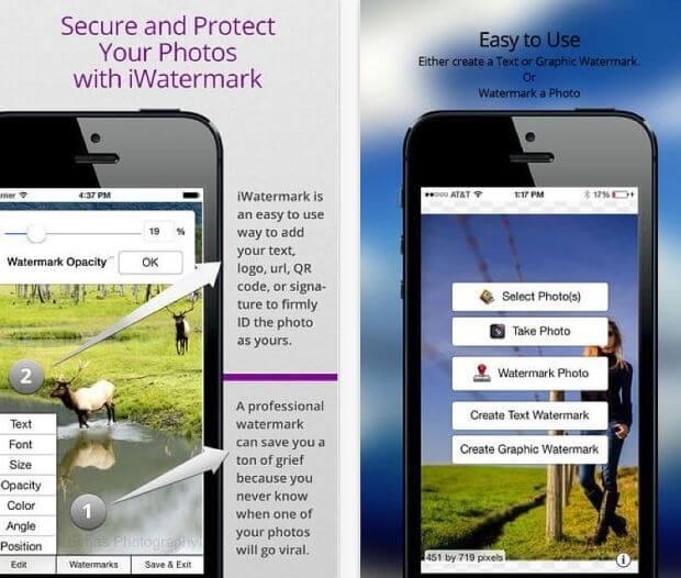 iWatermark – zabezpiecz swoje zdjęcie znakiem wodnym.