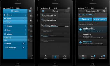 VLC Streamer - oglądaj filmy z OS X/Win na swoim iOS'ie będąc w tej samej sieci wifi.