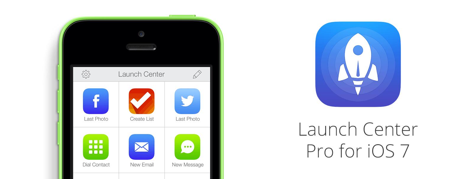 Launch Center Pro – jedna aplikacja dużo możliwości.