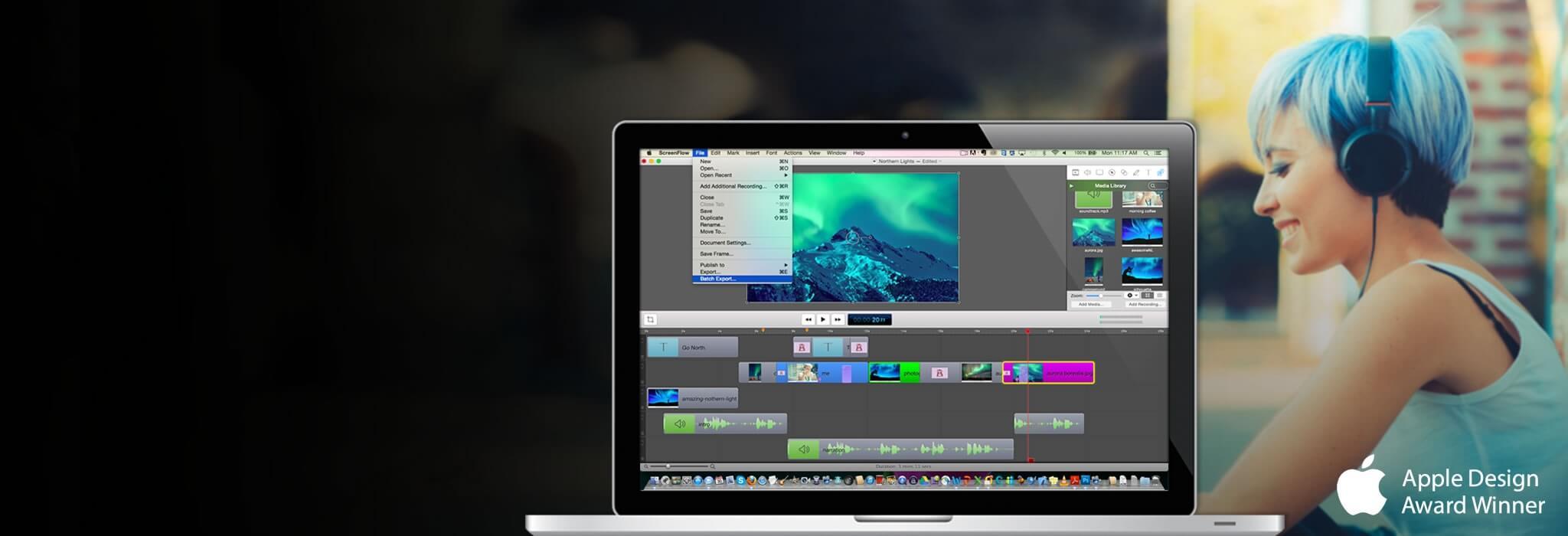 ScreenFlow – nagrywanie ekranu roboczego na Mac'a.