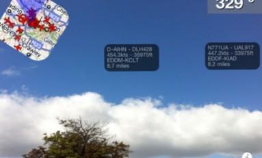 Plane Finder AR - informacje o pobliskich samolotach na naszym iPhone.