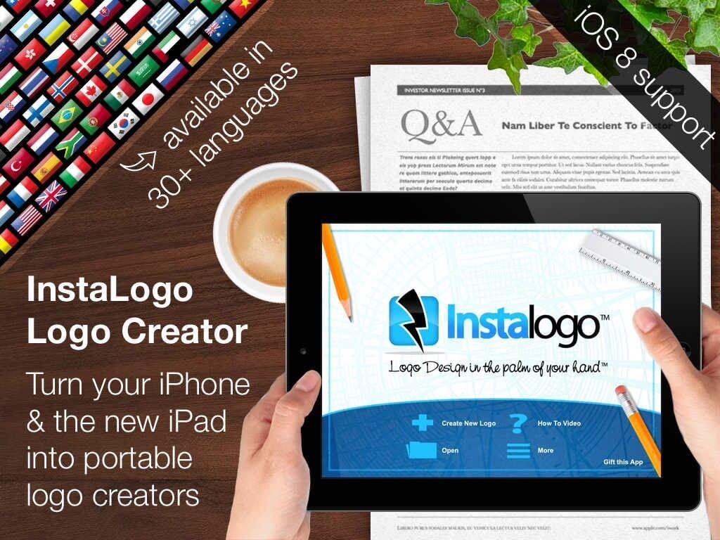 InstaLogo Logo Creator – tworzymy logo na iPhone.