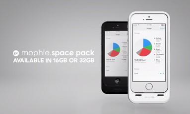 Mophie Space Back - więcej pamięci i energii w naszym iPhone.