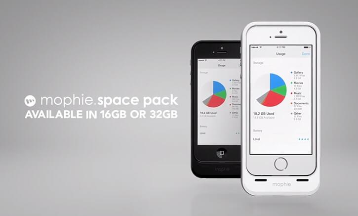 Mophie Space Back – więcej pamięci i energii w naszym iPhone.