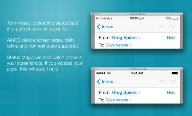 Status Magic - zmieniamy górny pasek w iOS'ie.