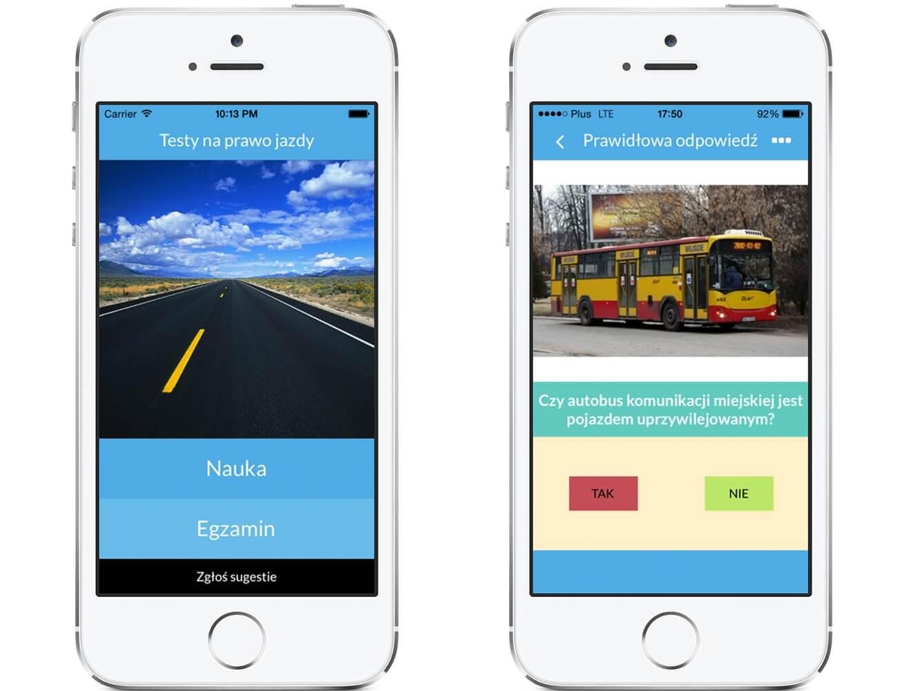 Prawko 2014 – przygotuj siędo testu używając iPhone'a.