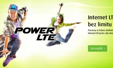 PLUS Power LTE - LTE bez limitu!