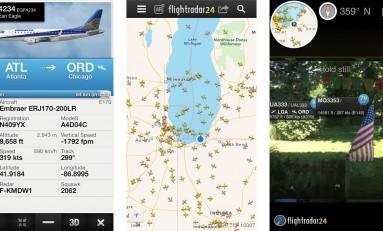 FlightRadar24 - radar strefy powietrznej w twoim telefonie.
