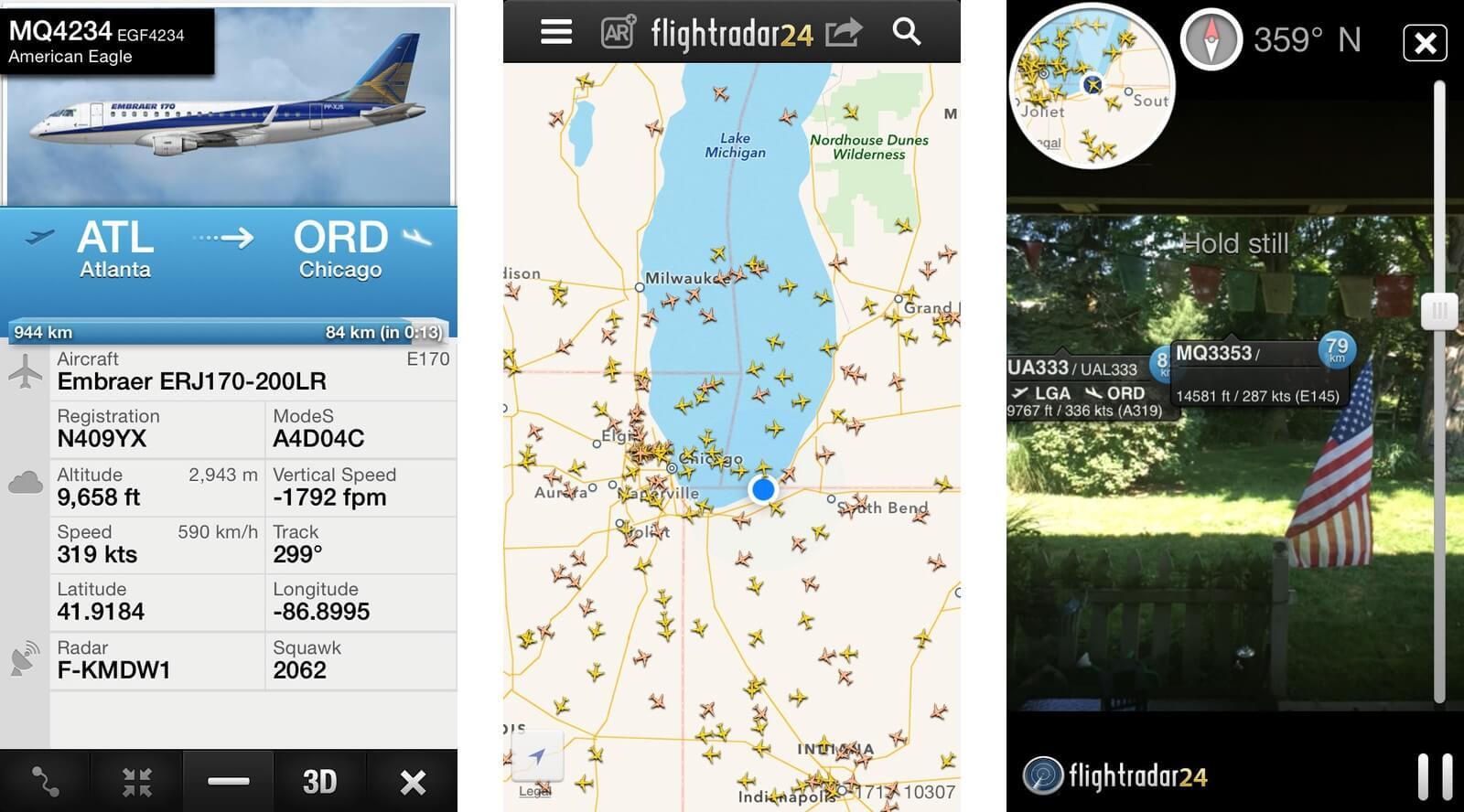 FlightRadar24 – radar strefy powietrznej w twoim telefonie.