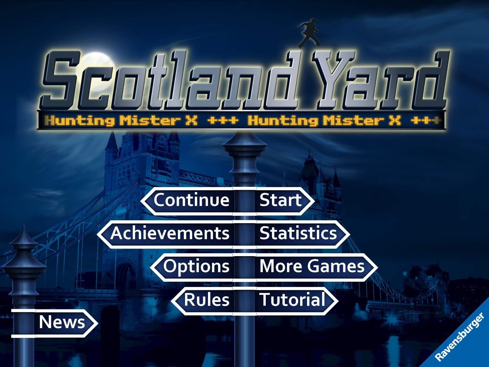Scotland Yard na iOS