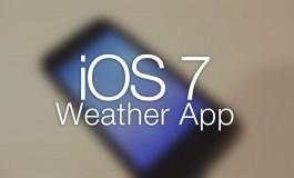 Jedna aplikacja pogody, a dwie różne temperatury.