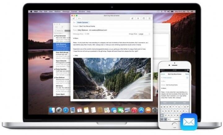 Pierwszy dzień z OS X 10.10 Yosemite.