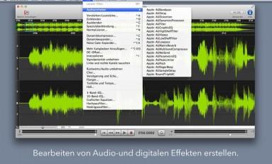 Sound Studio - twoje domowe studio nagrań na Mac'a.