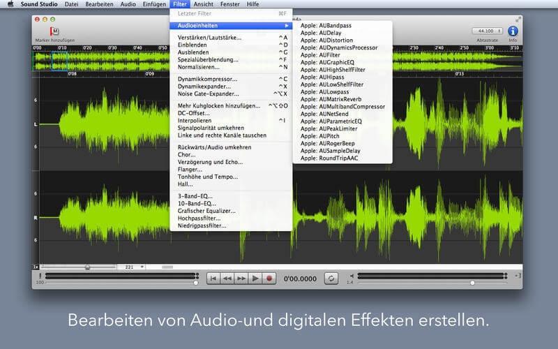 Sound Studio – twoje domowe studio nagrań na Mac'a.
