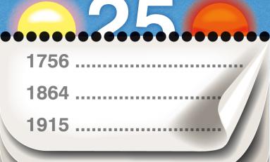 Mobilna kartka z kalendarza - Calendarium