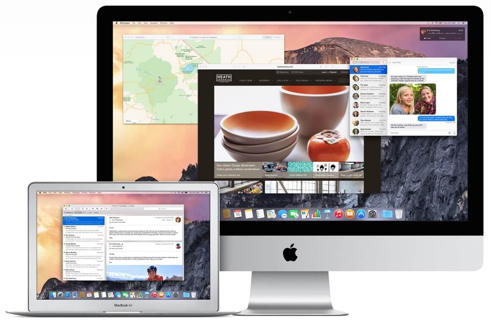 Błędy w OS X 10.10 Yosemite Beta.