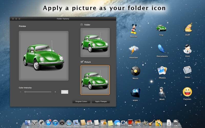 Folder-Factory – kreator folderów na Mac'a.[Kody!]