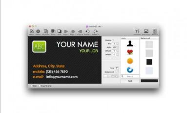 Card4Call - stwórz wizytówkę używając Mac'a! [Kody!]