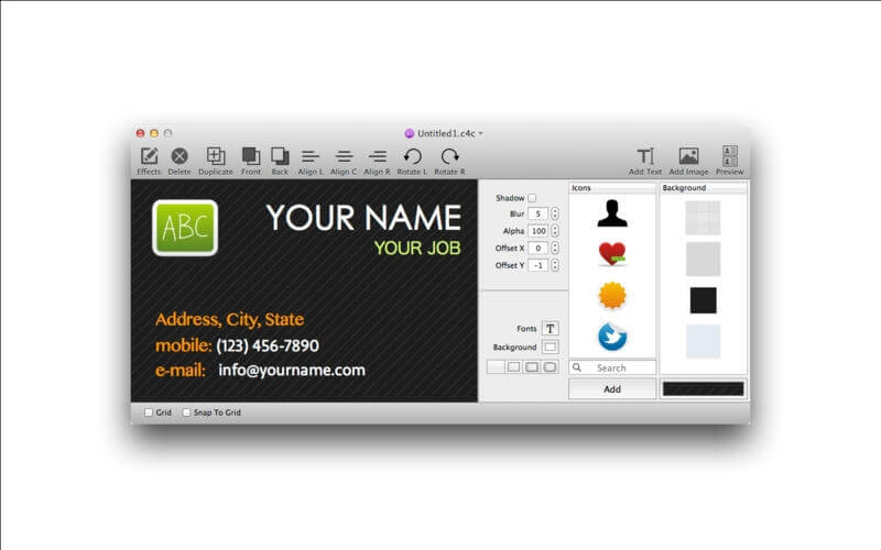 Card4Call – stwórz wizytówkę używając Mac'a! [Kody!]