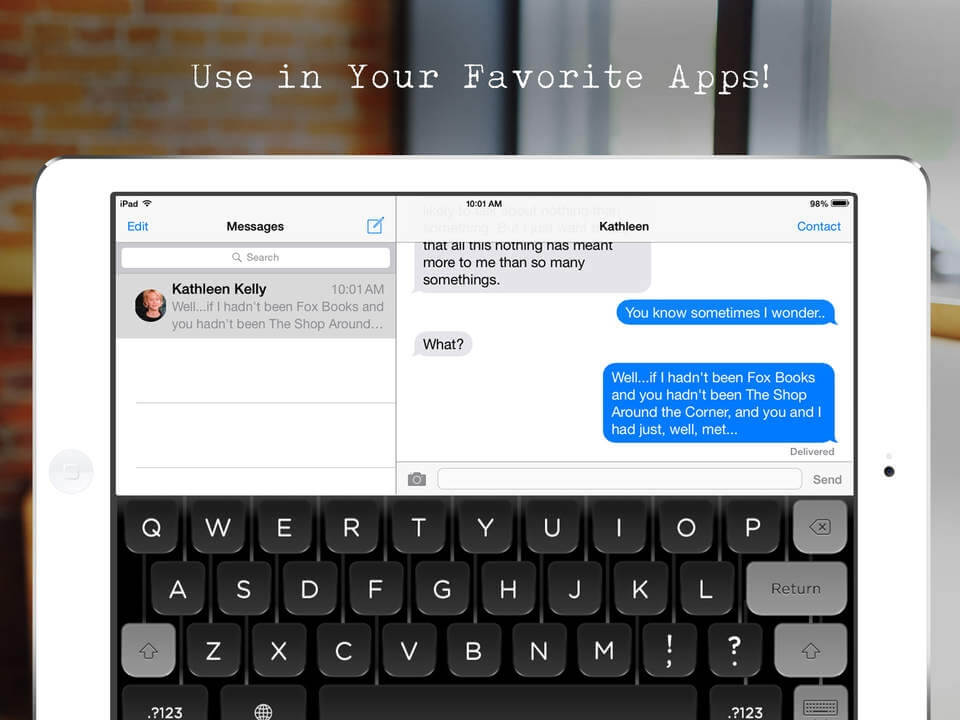 Hanx Writer – maszyna do pisania na iPada.
