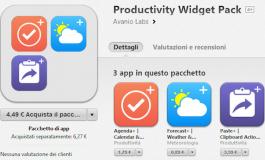 Forecast+ - aplikacji pogody, jako widget na iPhone'a.