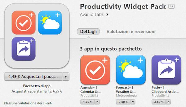 Forecast+ – aplikacji pogody, jako widget na iPhone'a.