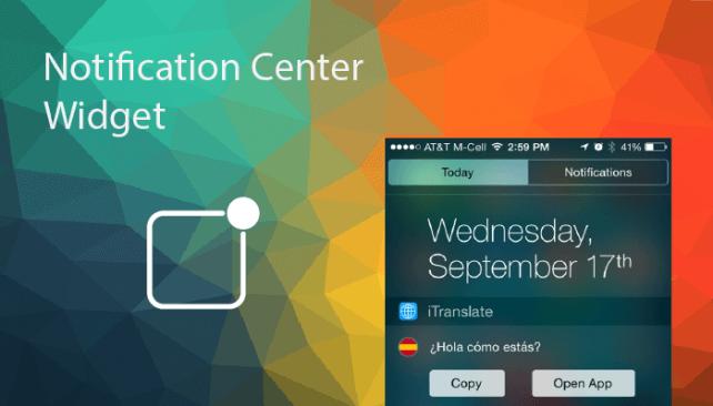 Widget – jedna z ciekawszych funkcji iOS 8!