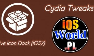 Five Icon Dock (iOS7) - pięć ikon w docku