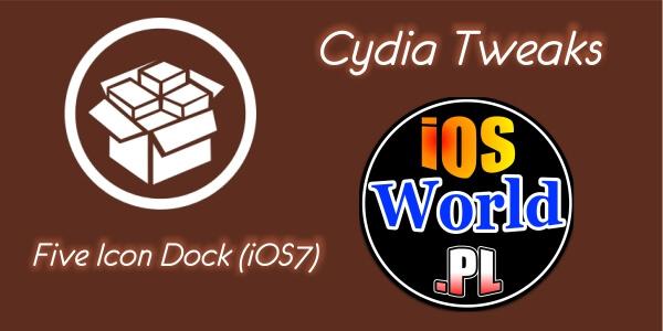 Five Icon Dock (iOS7) – pięć ikon w docku