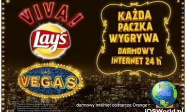 Promocja Orange i Lay`s równa się 100MB internetu na cały dzień.