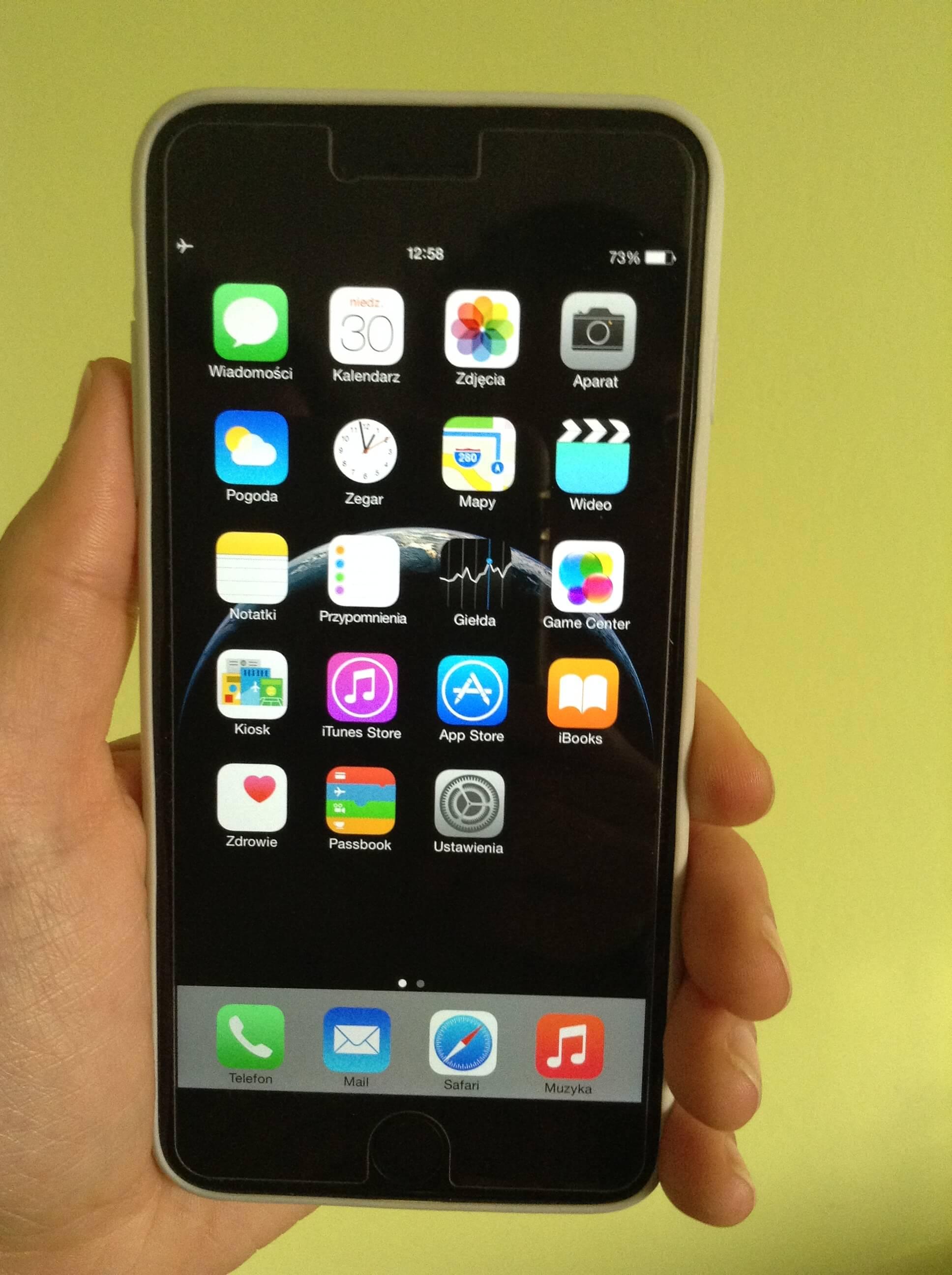 Moja przygoda z iPhone`m 6 Plus.