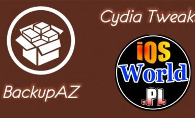 BackupAZ - backup ustawień także tych w Cydii